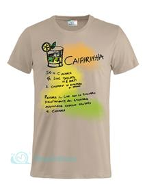 Magliettami T-shirt cocktail caipirinha