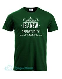 Magliettami T-shirt EveryDay verde scuro