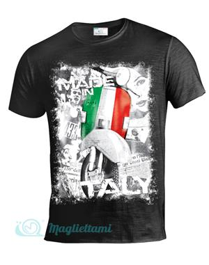 Magliettami T-shirt Made in Italy nera